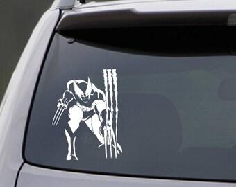 Wolverine Car Decal