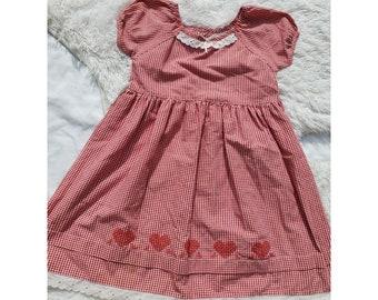 BUSTER BROWN Flowers /& Ladybird Tutu Summer Dress Girls Gift IdeaREDUCED
