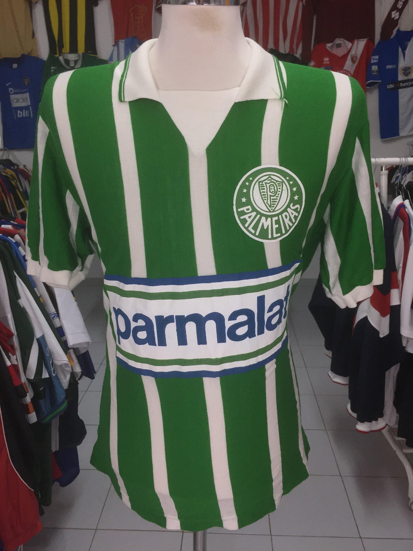 Vintage Football Shirt Palmeiras L9 Home Taeschner Brazil  9d45746f5