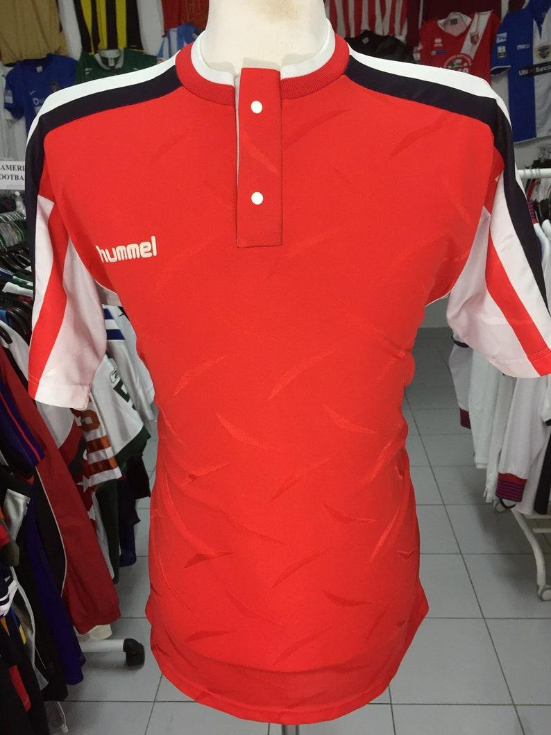 outlet store b09c7 4760a Vintage Football Shirt Hummel Denmark National Team 1996 Style (M) Dansk  Jersey