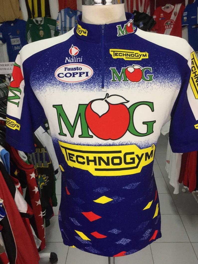 Vintage Trikot Team MG Maglificio Technogym 1995 (6) Nalini Italien