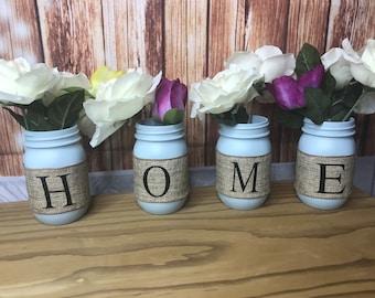 mason jar HOME