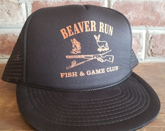 a9497a5792e72 Vintage Hunting Trucker Hat