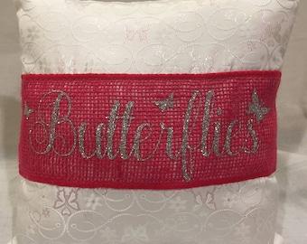 Pillow - Iridescent Butterfly