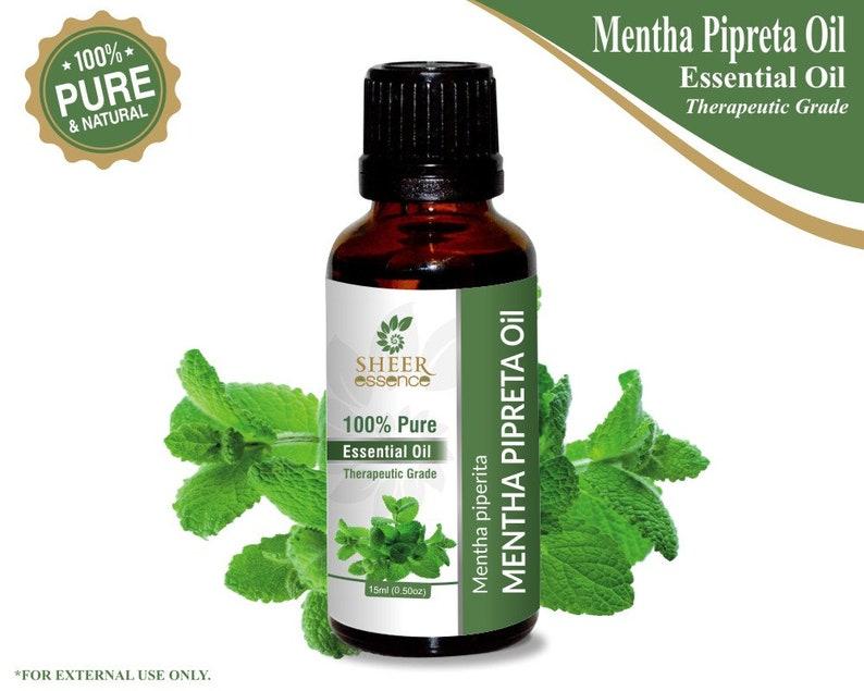 Mentha Pipreta Oil 100% Natural Pure Essential Oils 15ml To 1000ml Natural & Alternative Remedies Health & Beauty