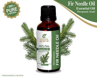 100% Pure Natural Balsam Fir Needle Essential Oil - Sheer Essence - Therapeutic Grade Fir Needle Oil 5ml To 500ml Free Shipping Worldwide