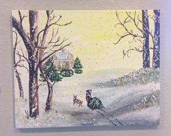 A Snowy Christmas Holiday
