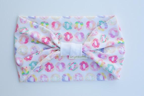Mini Donuts - Women's Knit Stretch Headband
