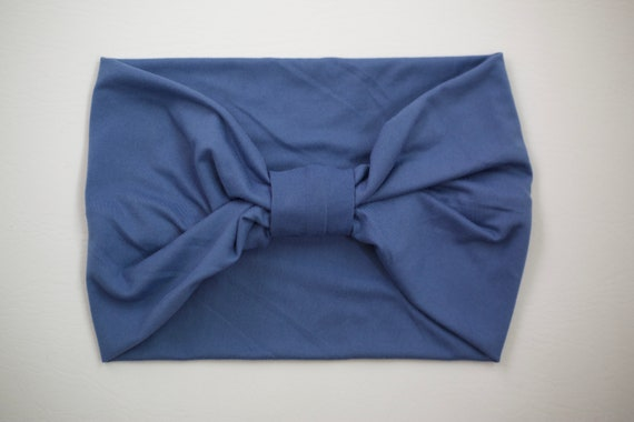 Women's Knit Stretch Headband - Blue Sky