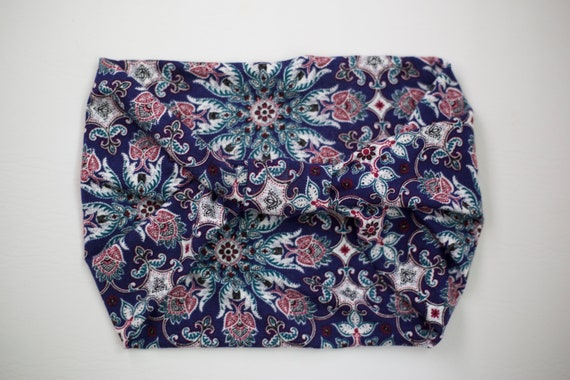 Women's Knit Stretch Headband - Summer Henna