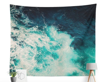 Water waves tapestry | Etsy
