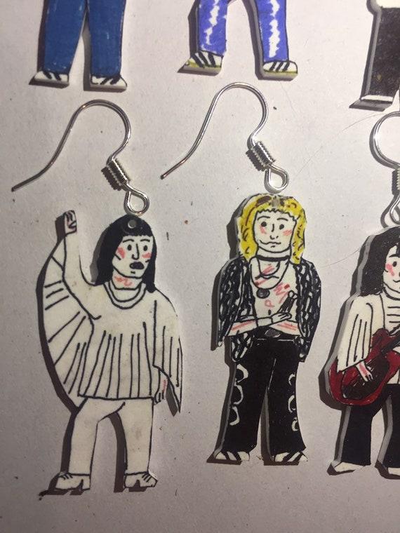 30f37add8 Queen freddie mercury Brian May Roger Taylor John Deacon Live   Etsy