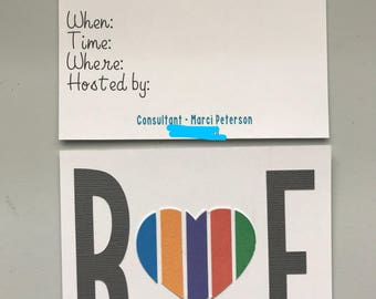 Rodan and Fields party invites