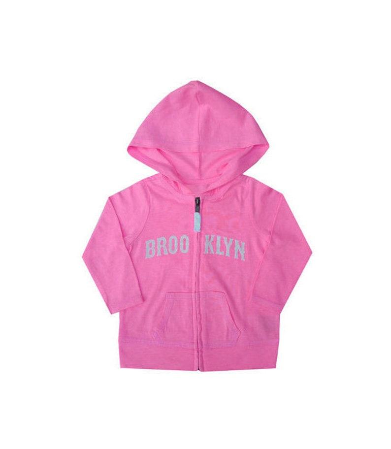 Brooklyn Candy Pink Girls Hoodie