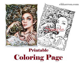 Gorjuss Santoro Stamps clipart and coloring pages - Google Search ... | 270x340