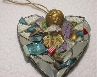 Angel Heart Mosaic