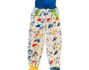 Glitzernicki Pants, bloomers, for boys, 104-109 cm