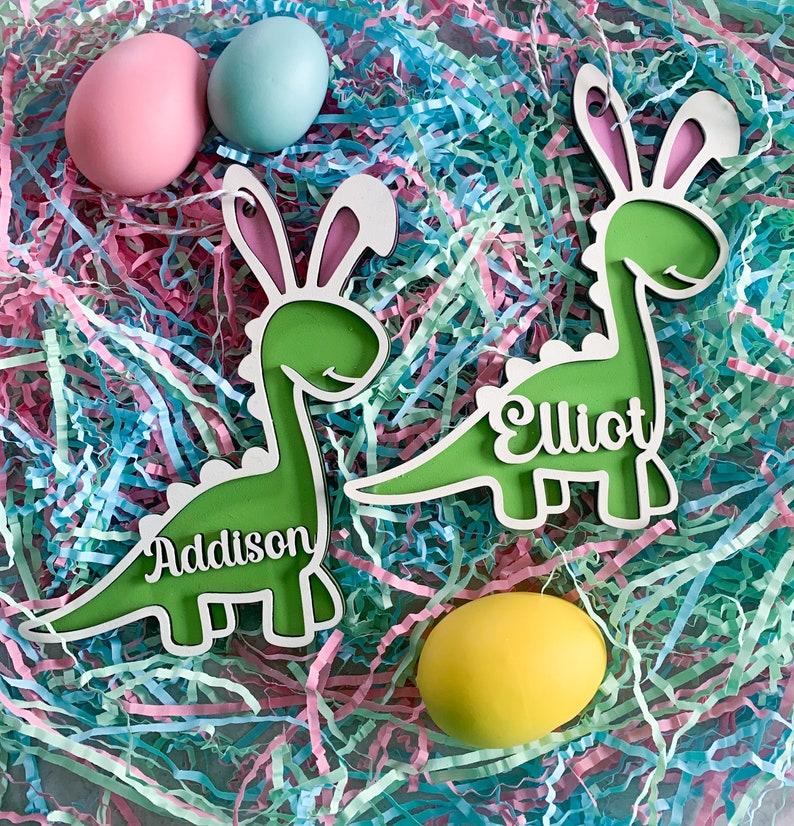 Easter Basket Tags Easter gifts Personalized Easter Basket