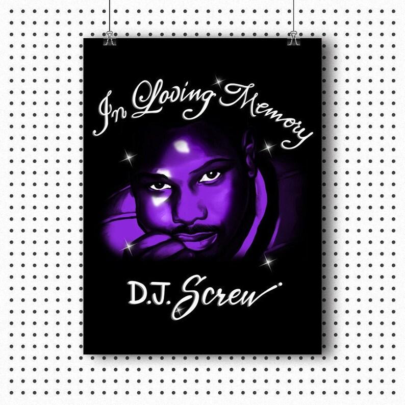 DJ Screw Poster -