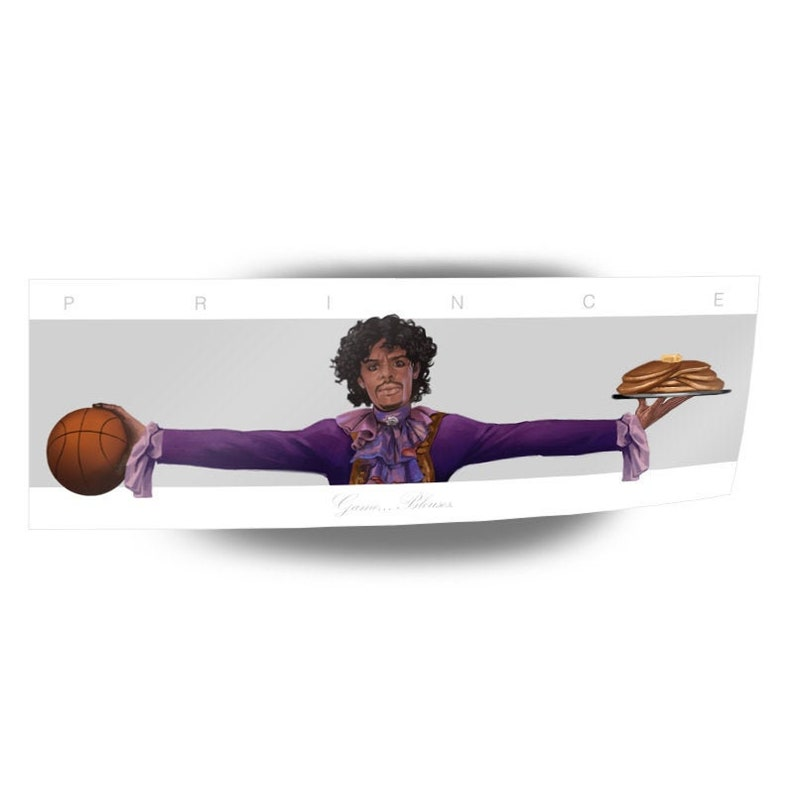 Prince 6 Wings Sticker Dave Chappelle Wings Series Sticker Chappelle Show Game Blouses Prince The Revolution Prince Pancakes