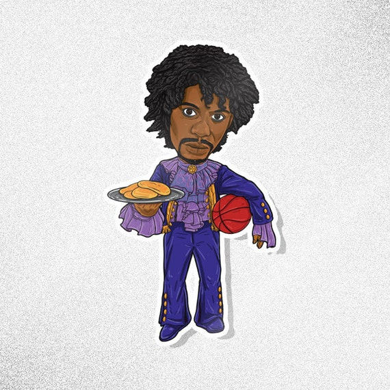 prince from chappelle s show sticker etsy prince from chappelle s show sticker pancakes tv caricature series dave chappelle prince game blouses purple rain comedy central