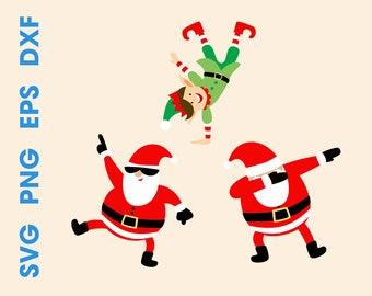 2b58371df3ab Dabbing Santa SVG Dancing Santa svg