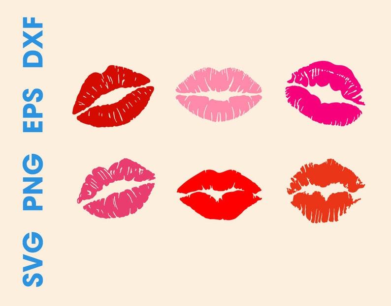 photo regarding Lip Printable referred to as Lips SVG Lips cricut Lips printable Lips silhouette
