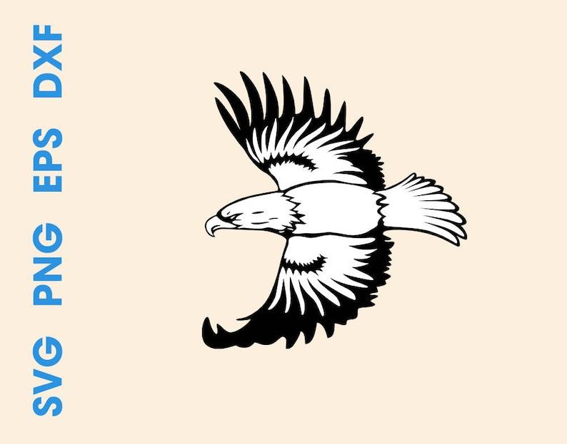 photograph regarding Eagle Printable identified as Eagle svg Eagle decal Eagle printable Eagle dxf Cricut svg Silhouette data files