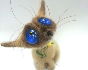 Crochet cat  Buttercup