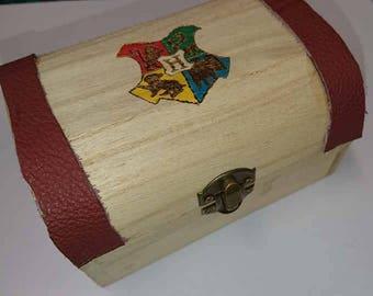 Harry Potter Pyrography Box