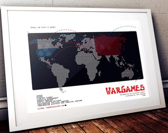 WarGames Poster - Shall we play a game? - Movie Print