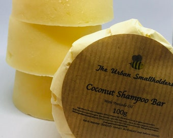 Conditioning Shampoo Bar/ body bar, travel soap, SLS-free, natural, organic, body soap, conditioning shampoo