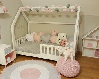 Kinderbett häuschen  Kinderbett haus | Etsy