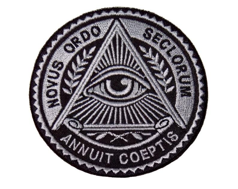 1 Day Illuminati Freemasonry Symbols Eye Secret Society Sew On | Etsy