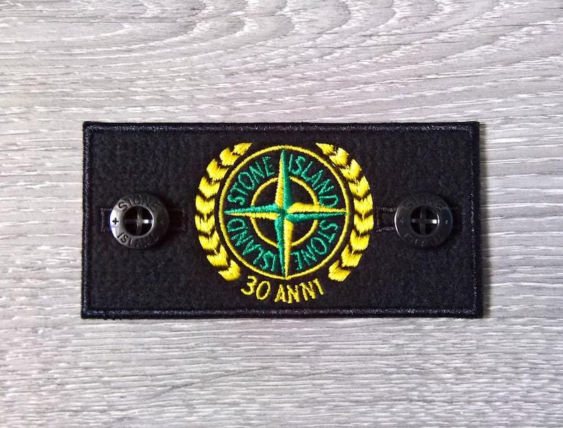marque nouveau remplacement stone island patch 30 anni badge | etsy