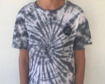 LG Tees Tie Dye T-Shirt Grey