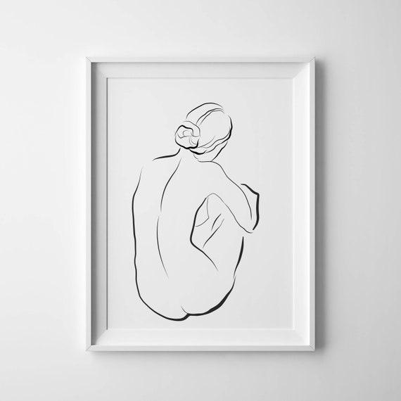 Drawing female pdf figure
