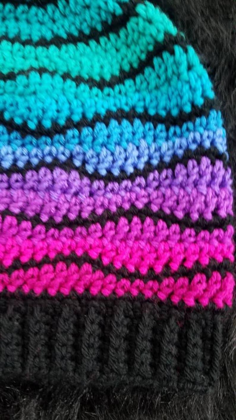 Women/'s Crochet Slouchy Beanie