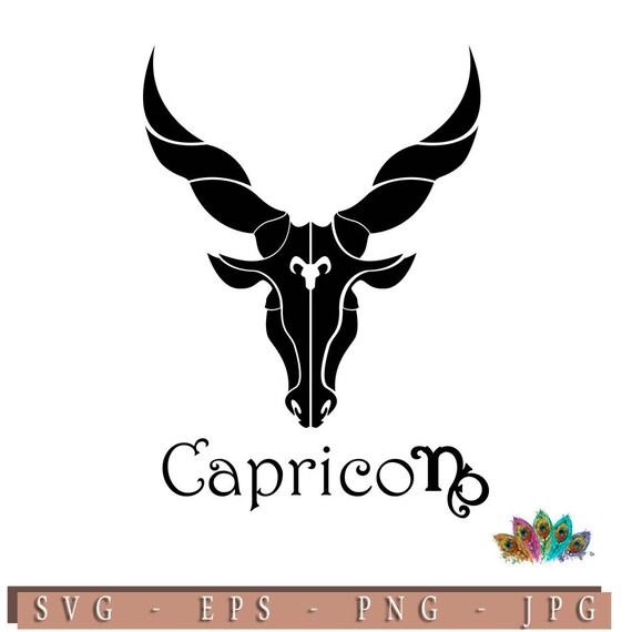 Zodiac Sign Capricorn Astrology Horoscopes G Eps G Etsy