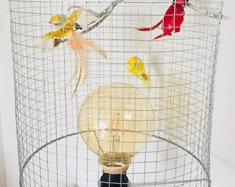 L'amour en Cage - table lamp