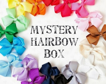 Mystery Hairbow Box - Surprise Box - Mystery Box- Free Shipping