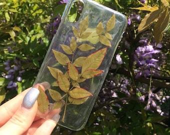 Pressed Leaves Case