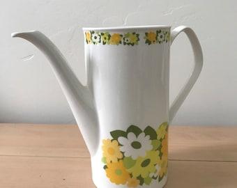 MCM Johnson Bros Floral Teapot