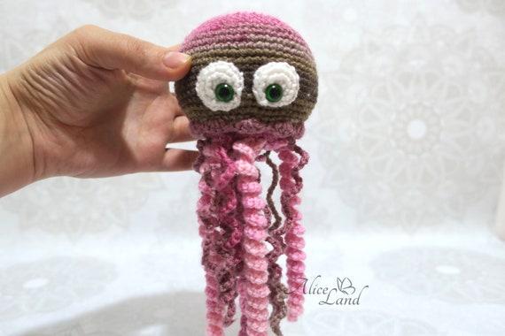 medusa crochet amigurumi patron gratis fototutorial // Amigurumi ... | 380x570