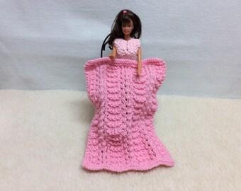 Barbie doll blanket