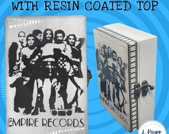 Empire Records, Keepsake Box, Rex Manning Day, Empire Records Movie Gifts, 90's Movie, Memory Box, Jewelry Box, Wooden Box, Personalized Box