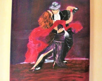 dancers oil painting ,dancers,Art and collections,paintings,painting,Acrylic,dance,Mural Art,Art painting,gift for mommy,Dance painting