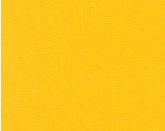 DUCKLING Yellow Kona Cotton Solid Fabric by they yard from Robert Kaufman K001-840
