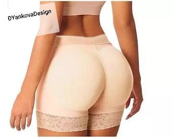 148383c96d7de Body Shapers Women Sexy Solid Short Butt Lifter shaper Panties Shapewear  Butt Lift Control Bodyshorts