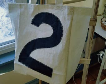 """Upcycled Sail Bag """"2"""""""